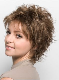 Wig Pro Felicity Synthetic Wig, 18 22 Medium Ash Blonde blended with Ash Blonde Perruque Synthétique Felicity par Perruque Pro Shaggy Short Hair, Short Layered Haircuts, Short Hair Wigs, Cute Hairstyles For Short Hair, Thin Hairstyles, 2015 Hairstyles, Edgy Medium Hairstyles, Choppy Haircuts, Short Hair With Layers