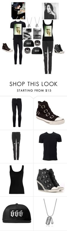 """""""he and she outfits"""" by monstershawna ❤ liked on Polyvore featuring Topman, Ash, Christopher Kane, Twenty, Blackcraft and McQ by Alexander McQueen"""