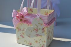 Baby Girl  party/gift favor bags by steppnout on Etsy, $2.00