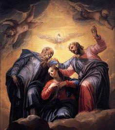 Paolo Veronese: Coronación de la Virgen.