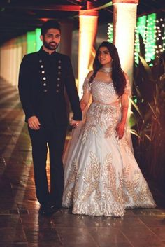 An Alibaug Wedding With A Modern Bride Who Shined In An Unconventional Lehenga Wedding Dresses Men Indian, Wedding Dress Men, Wedding Dress Styles, Boho Wedding, Dream Wedding, Golden Bridal Lehenga, Indian Bridal Lehenga, Bridal Sarees, Bridal Chura