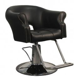 Arnage Styling Chair in Vintage Black