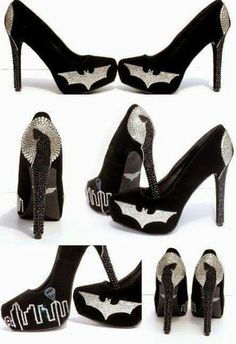 Batman heels I don't normally wear heels but if I had these I'd wear them any chance I got