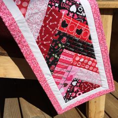 A personal favorite from my Etsy shop https://www.etsy.com/listing/227306711/quilted-table-runner-perfect-for
