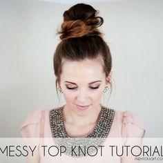 Top Knot - Fitnessmagazine.com