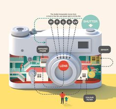 Infographics reveal secrets of the iPhone and other gadgets