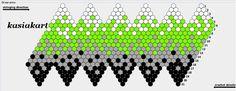 koraliki, kordonki, szydełko, plecionki...: Wzory na kulki szydełkowo - koralikowe