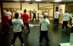 Practicing Siu Nim Tau at The Dragon Institute | Orange County | Wing Chun Kung Fu.