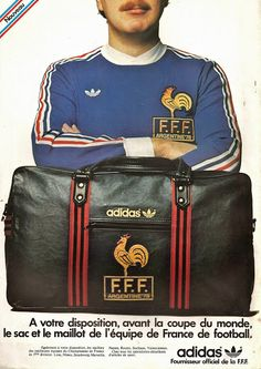PUB. Adidas. France. ~ THE VINTAGE FOOTBALL CLUB