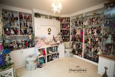 insidethefashiondollstudio.com     3.  How many dolls do you have?  I currently have around 600 and that is most likely as big as it will get.  I am maximized right now which means…if something comes in…something has to go out.