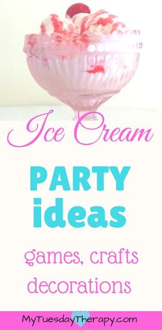 3d8561586f5e Cool Ice Cream Party Ideas for Decorations