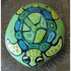 Turtle Time Pet Rock
