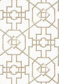 BAMBOO LATTICE, Beige, T36160, Collection Enchantment from Thibaut