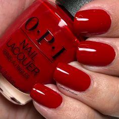 Happy New Year's Eve loves! Red Polish, Nail Polish, Opi Red, Nail Station, Opi Nail Colors, Beauty Supply Store, Engraved Bracelet, Opi Nails, Stylish Nails