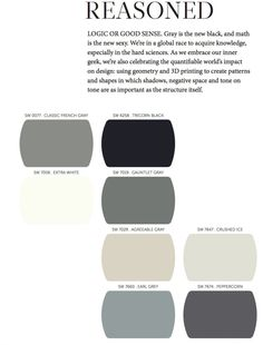 2014 Sherwin Williams Paint Color Forecast. More 2014 colors on link.