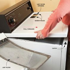 Dryer Lint Cleaning Tips from Handyman dot com Deep Cleaning Tips, House Cleaning Tips, Diy Cleaning Products, Cleaning Solutions, Spring Cleaning, Cleaning Hacks, Cleaning Checklist, Cleaning Lists, Apartment Checklist