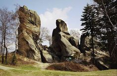 Rezerwat skalny Prządki koło Krosna