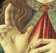 Botticelli c. 1500  Christ the Redeemer (detail)