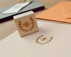 Honey Bee Rubber Stamps | Maple & Cotton