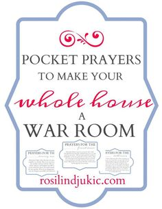 6 Amazing Prayers to Make Your Whole House a War Room. 6 powerful prayers to pray while you clean that will turn your whole house into a war room. Prayer Times, Prayer Scriptures, Bible Prayers, Faith Prayer, My Prayer, Bible Verses, Healing Prayer, Miracle Prayer, Answered Prayers