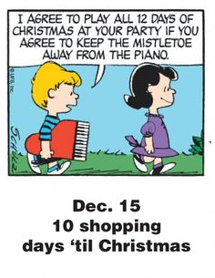 Dec. 15 - This is a classic countdown panel from 2009