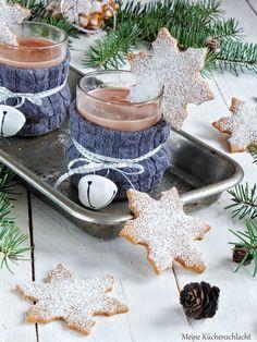Sahne-Gewürz-Eiskristall Cookies
