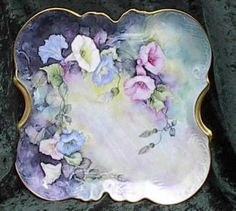 Floral china.