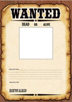 Picture Of A Wanted Poster 15 Old Wanted Poster Templates Free Printable  Sample Example, Create A Wanted Poster K 5 Computer Lab Technology Lessons,  ...  Create A Wanted Poster Free
