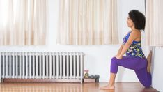 yoga for tight quads king arthur wall variation Yoga Sequences, Yoga Poses, Tight Quads, Wall Yoga, Quad Stretch, Yoga International, Yoga World, Pilates Workout, Yoga Meditation