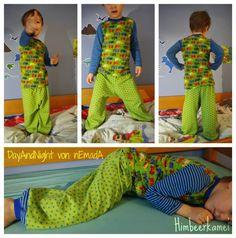 nEmadA: Day&Night Schlafanzug kurz und lang