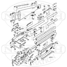 model 1100 exploded view remington model 1100 pinterest models rh pinterest com Remington 11 87 Disassembly Manual remington 1187 sportsman parts diagram