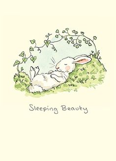 M261 Sleeping Beauty by Anita Jeram