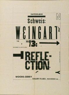 13 weingart poster by wolfgang weingart