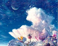 Florescendo Além das Nuvens