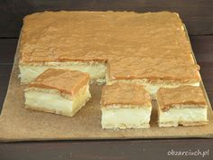 Polish Desserts, Polish Recipes, Sweet Recipes, Cake Recipes, Dessert Recipes, I Love Food, Good Food, Yummy Food, Cooking Time