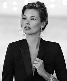 Kate Moss by Peter Lindbergh for David Yurman | @andwhatelse