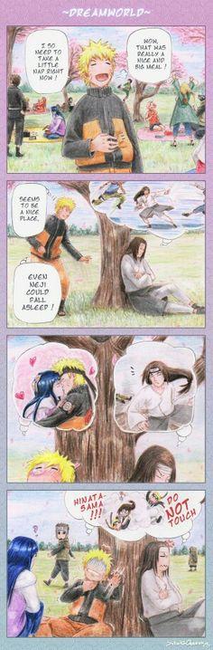 Naruto... you pervert!! Neji, teach him a lesson