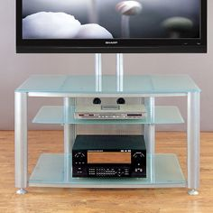 VTI Flat Panel TV Cart TV Stand & Reviews | Wayfair