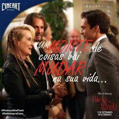 O que será que muda na vida de Ricki? Venha conferir mais um sucesso com a maravilhosa Meryl Streep!  #RickiAndTheFlash #EstreiaDaSemana #NaCineartTem by cineart_oficial