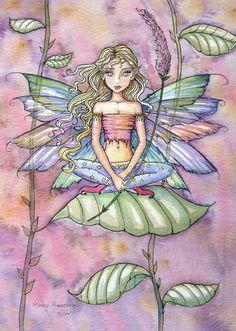 Molly Harrison Gwenn fairy art