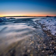 Morning from Shores of Sleeping Bear Dunes-Apr 12, 2015--Pure Michigan