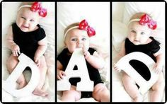 Boy or girl, im so doing this for Tony to keep in his wallet :) maybe for his first fathers day!