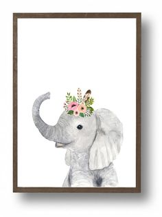 Baby animals : zebra, giraffe, elephant  Lets make your little ones room warm and enjoyable!  This baby animal art prints collection features a set of