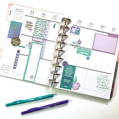 """83 Likes, 12 Comments - Liz Nielson (@thenotableliz) on Instagram: """"Here's this week #beforethepen in my Boho Deep Tones CLASSIC Happy Planner™️! I'm pretty much…"""""""