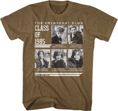 Breakfast Club Class of 1985 T-Shirt - 80stees.com