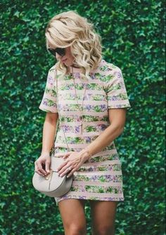 Petit Jardin Mini Dress #anthrofave