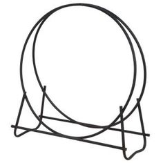 UniFlame 40 in. Hoop Style Firewood Rack-W-1881 at The Home Depot