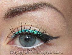EyeGraffiti #turquoise #eyeliner