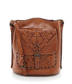 Patricia Nash Folklore Artisan Lavello Sling CrossBody Bag #Dillards
