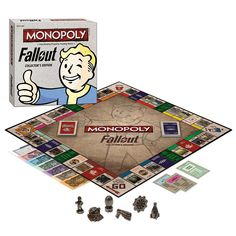 Greetings Vault Dwellers! Play MONOPOLY: Fallout Collector's Edition and rebuild civilization as you buy, sell, and trade your way through the Fallout Wasteland.
